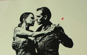 Couple de danseurs par Aérosol - Copie